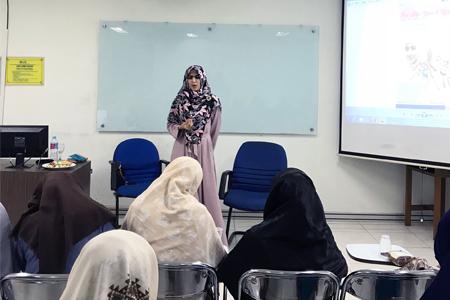 Seminar World Hijab Day Bersama LDK Karisma UAI