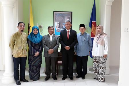 Kunjungan Rektor UAI Ke Kedutaan Brunei Darussalam