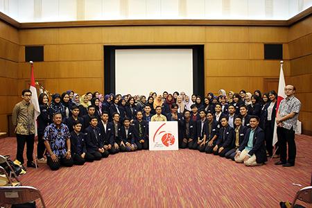 Korps Mahasiswa Hubungan Internasional (KOMAHI) UAI Kunjungi Kedutaan Besar Jepang Di Jakarta