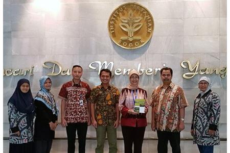 Kunjungan Studi Banding Badan Penjaminan Mutu (BPMU) UAI Ke Kantor Audit Internal IPB