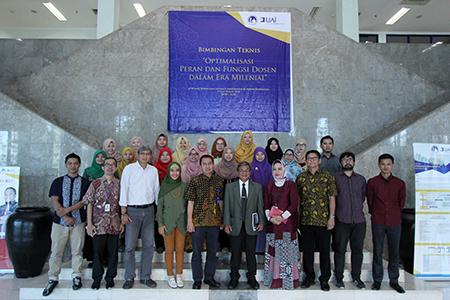 Optimalisasi Peran Dan Fungsi Dosen Dalam Era Millenial,  Bimbingan Teknis Dosen Universitas Al Azhar Indonesia