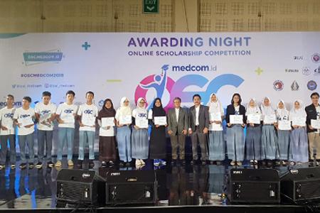 20 Siswa Terima Beasiswa OSC 2018 Di Universitas Al Azhar Indonesia