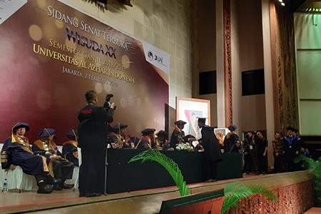 Universitas Al Azhar Indonesia Gelar Wisuda Ke-XX