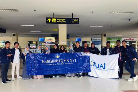 Mahasiswa/i UAI Menuai Prestasi Dalam Acara MTQMN XVI 2019