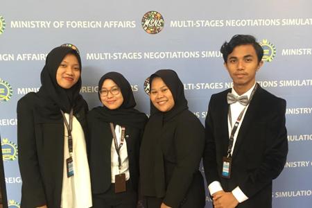 Mahasiswa Ilmu Hubungan Internasional (HI) UAI Mengikuti Kegiatan Multi Stage Negotiations And Simulations (MSNS)