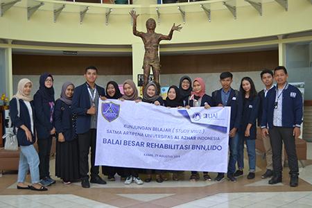 Kunjungan Belajar Mahasiswa Universitas Al Azhar Indonesia Ke Balai Besar Rehabilitasi Badan Narkotika Nasional, LIDO