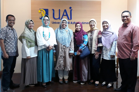 Kunjungan LPM UIN Raden Fatah Palembang Ke BPM UAI