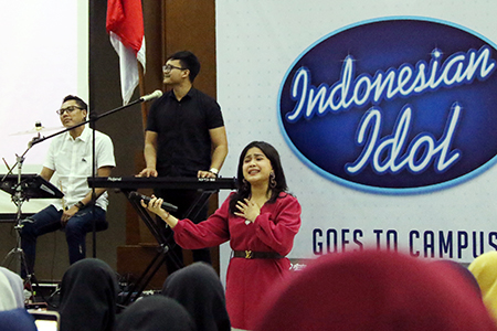 Indonesian Idol Goes To Universitas Al Azhar Indonesia: Talkshow Inspiratif Bersama Brisia Jodie