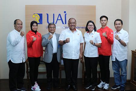 UAI Gandeng KONI Pusat Persiapkan Kesejahteraan Atlet Nasional Berprestasi