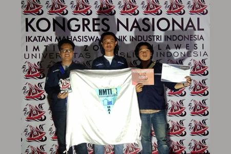 Ikuti Kongres Nasional & Forum Ilmiah IMTII Ke-IV, 3 Mahasiswa UAI Raih Prestari