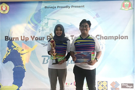 Prestasi Ganda Campuran Badminton UAI