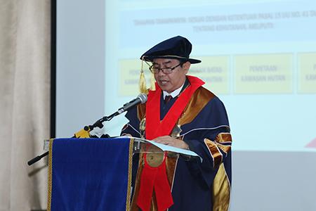 Prosesi Pengukuhan Profesor / Guru Besar: Prof. Dr. Agus Surono, S.H., M.H.,