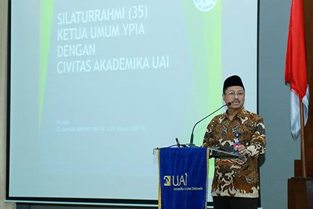 Yayasan Pesantren Islam Al Azhar Adakan Pertemuan Dengan Sivitas Akademika UAI