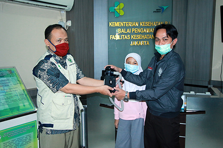 Alat Respiratori UAI Lulus Uji BPFK Jakarta