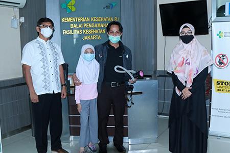 Presiden Jokowi Resmikan Peluncuran Produk Inovasi Penanganan Covid-19