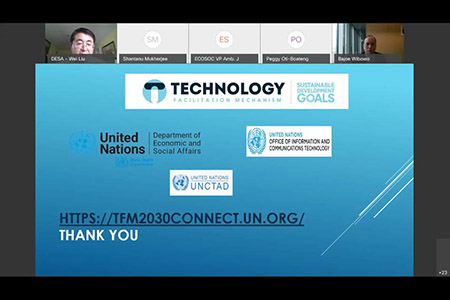 Rebuilding Better With Sti During Covid-19 : Leveraging The Technology Facilitation Mechanism Launch Of The Online Technology Platform – 2030 Connect