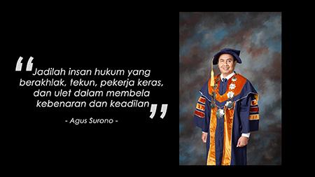 Wawancara Prof. Dr. Agus Surono, SH.,MH Membahas Mengenai Kebakaran Yang Terjadi Di Kejaksaan Agung Republik Indonesia
