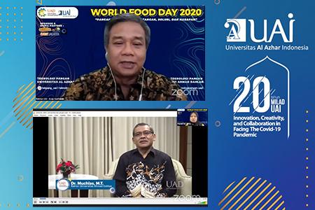 """WORLD FOOD DAY 2020 """"PANGAN MASA DEPAN: TANTANGAN, SOLUSI, DAN HARAPAN"""""""