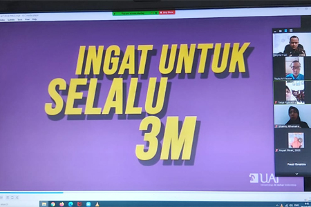 Ingat Untuk Selalu 3M!