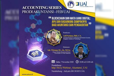Webinar Accounting Series: Blockchain Dan Mata Uang Digital