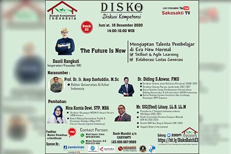 DISKO (Diskusi Kompetensi) Batch 23 By Rumah Kompetensi Indonesia