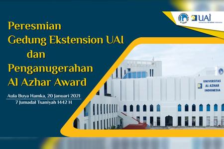 Peresmian Gedung Ekstension UAI Dan Penganugerahan Al Azhar Award