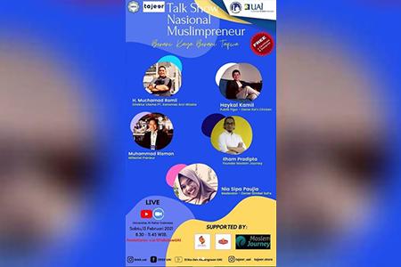 Kiat Sukses Berwirausaha Ala Talkshow Nasional Muslimpreneur