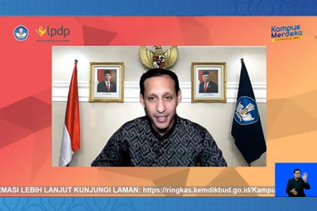 Peluncuran Program Kampus Mengajar Bersama Menteri Pendidikan Dan Kebudayaan RI