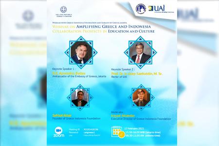 Perkuat Prospek Kerjasama Edukasi Serta Pariwisata Antara Yunani Dan Indonesia Dengan Webinar Kolaboratif