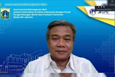 Sah! Berikut Isi Penandatanganan MoU Antara UAI Dengan Pusat Pengembangan Benih Dan Proteksi Tanaman Dinas DKI Jakarta