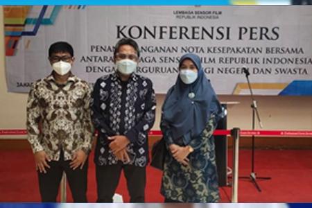Resmi Sudah Nota Kesepakatan Bersama Antara Lembaga Sensor Film Dengan 21 Perguruan Tinggi Negeri Dan Swasta Se – Indonesia