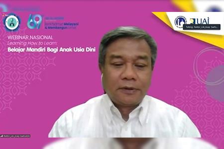 Prodi PG PAUD Sukses Adakan Webinar Nasional Learning How To Learn