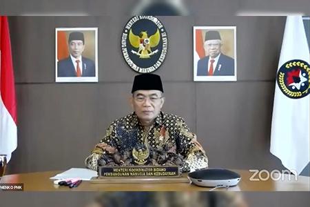 Silaturahim Idul Fitri UAI Dihadiri Oleh Menko Muhadjir Effendy