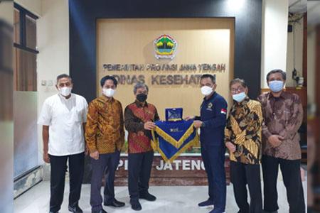 UAI Serahkan Alat PAPR Ke Pemkot Semarang Dan Dinkes Jawa Tengah