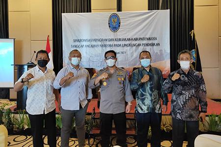 Sinkronisasi Program Dan Kebijakan Kabupaten/Kota Tanggap Ancaman Narkoba (KOTAN) Pada Lingkungan Pendidikan