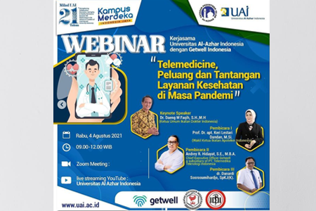Ketua IDI Hadiri Webinar Kolaborasi UAI Dengan Getwell Indonesia