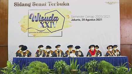 Universitas Al-Azhar Indonesia Sukses Gelar Wisuda Semester Genap