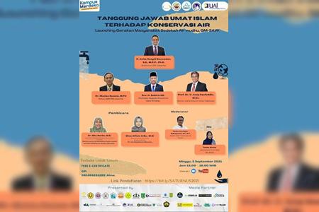 Kolaborasi UAI Dan Pemprov DKI Jakarta Dalam Kegiatan Konservasi Air