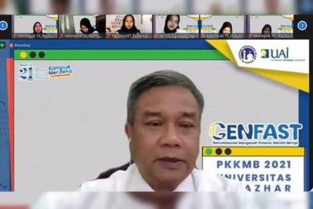 Sukses! Pembukaan PKKMB UAI 2021 Bersama Mendikbudristek